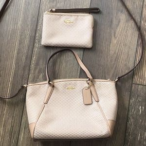 Coach Cross Body and Coach small wristlet